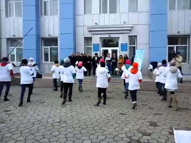 Флешмоб Алга Казакстан