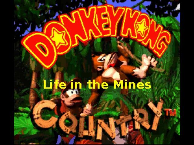 Donkey Kong Country Soundtrack SPC