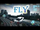 Very Epic Flight in NFS World   Flying Porsche GT3 RS 4.0   High jump