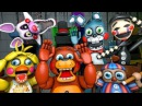 Toy Animatronics Reaction to Five Nights at Freddy's 4 Trailer FNAF SFM