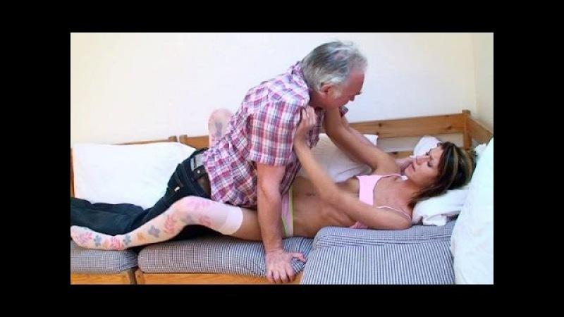 как мзалез под одеяло к своей старенькой бабушке
