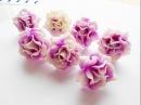 Волшебные пионы розы из полимерной глины