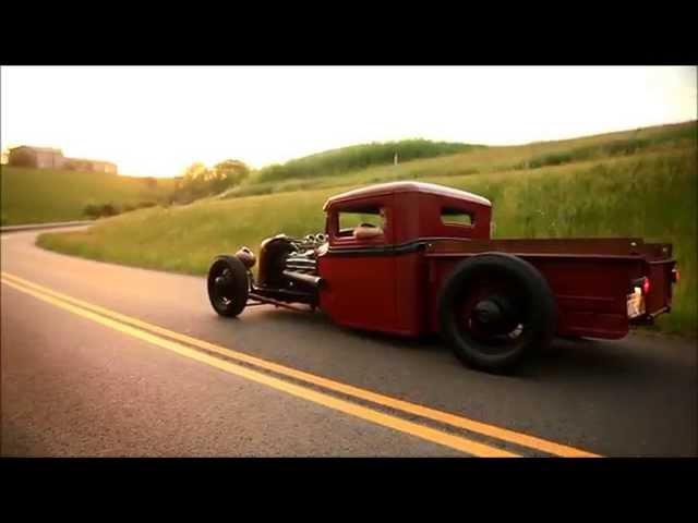 Rum Runner 1933 Ford Traditional Hot Rod Street Rat Rod Pickup Truck FOR SALE
