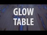 Светящийся в темноте деревянный стол