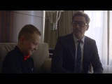 Dope: Robert Downey Jr. Delivers A Real Bionic Arm To A Special Kid!