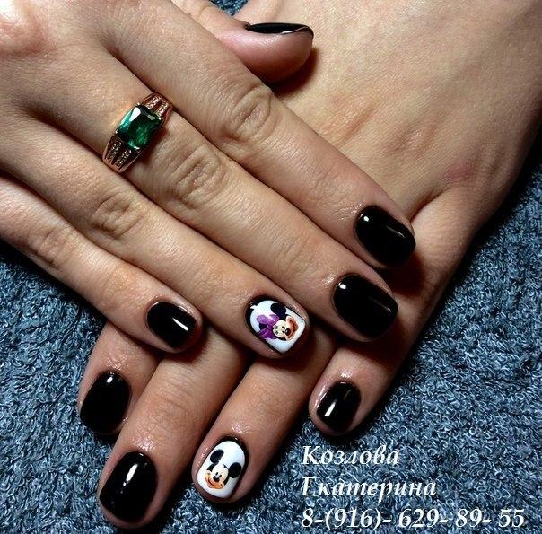 Дизайн ногтей просто и быстро