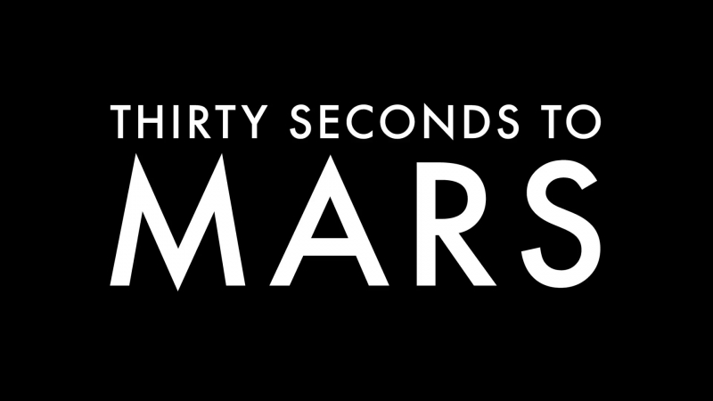 THIRTY SECONDS TO MARS_ Church of Mars - Paris on VyRT