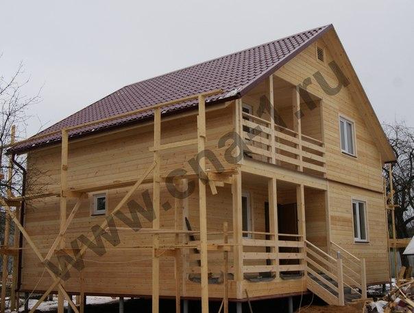 Закончено строительство проекта 16П-150К (Дом 9х8 каркасный, толщина каркаса 150 мм) - http