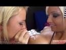 Rikki Six, Alexis Monroe VS Jennifer White - Cock Sucking Challenge [part 1] (2012) огромные большие сиськи сисяндры большая