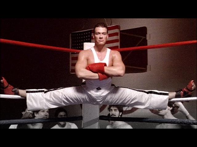 Жан-Клод Ван Дамм против 3 каратистов на ринге   Jean-Claude Van Damme karate vs. 3 in the ring