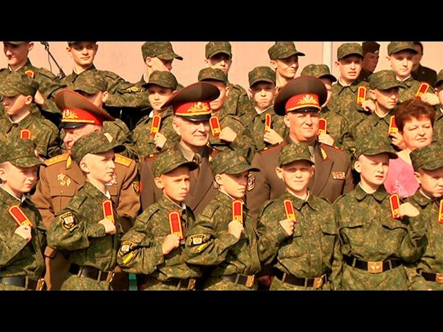 Посвящение первокурсников в суворовцы прошло в МСВУ