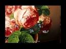 Как рисовать розы Натюрморт масляными красками Техника старых мастеров How to Paint a Rose