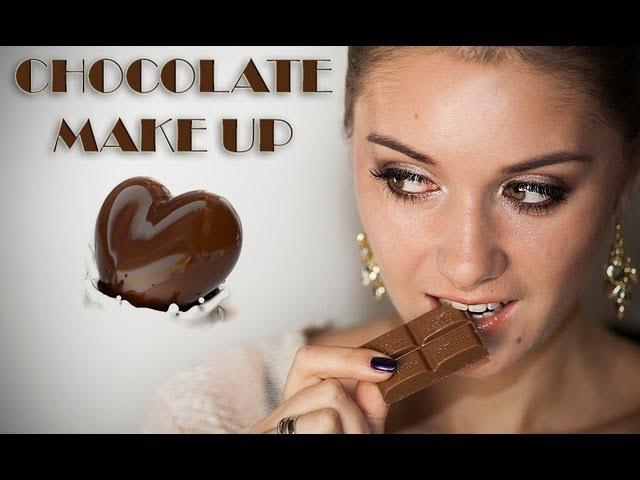Chocolate MakeUp Шоколадный макияж