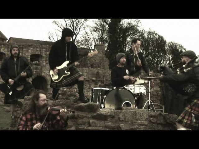 The Real McKenzies 'drink some more' official music video Feat Sean Connery