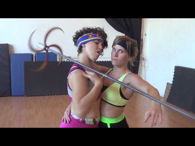 World Record Partner Dragon Staff Workout