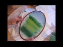 Урок 2 Роспись фона для картины Объёмная вышивка Галина Перова