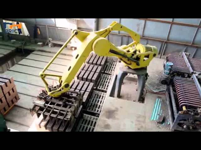 Full automatic robot stacking machine green bricks