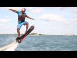 (Экстремальное видео) Riding a Real Life Hoverboard 2015