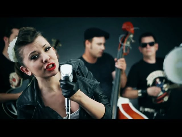Tom Stormy Trio feat Rhythm Sophie Rockabilly Rhythm Official video
