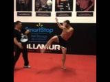 Luke Rockhold training for UFC 194