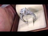 Unique Engagement Ring Cushion Cut - Mike Nekta
