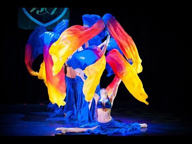 Silk Madness - Katerina Joumana and Joumana Dance Show