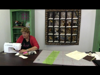 Attic Windows Quilt With A Panel Easy Quilting Tutorial