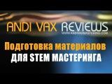ANDI VAX REVIEWS 014 - Стем Мастеринг