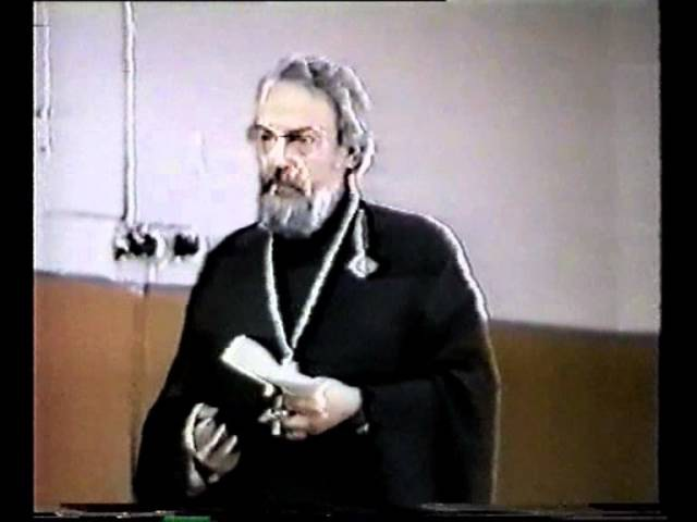 А. Мень. Дух и творчество, 1989 год.