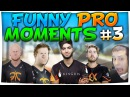 CSGO - FUNNIEST PRO MOMENTS 3 FT. ScreaM, n0thing, mOE More!