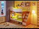 Детская двухъярусная кровать Легенда 7 . Комната. Мебель. Интернет-магазин Лайтик