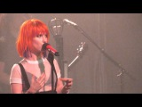 Intro Hate To See Your Heart Break by Hayley Williams @ Bell Auditorium, Augusta - April 27, 2015