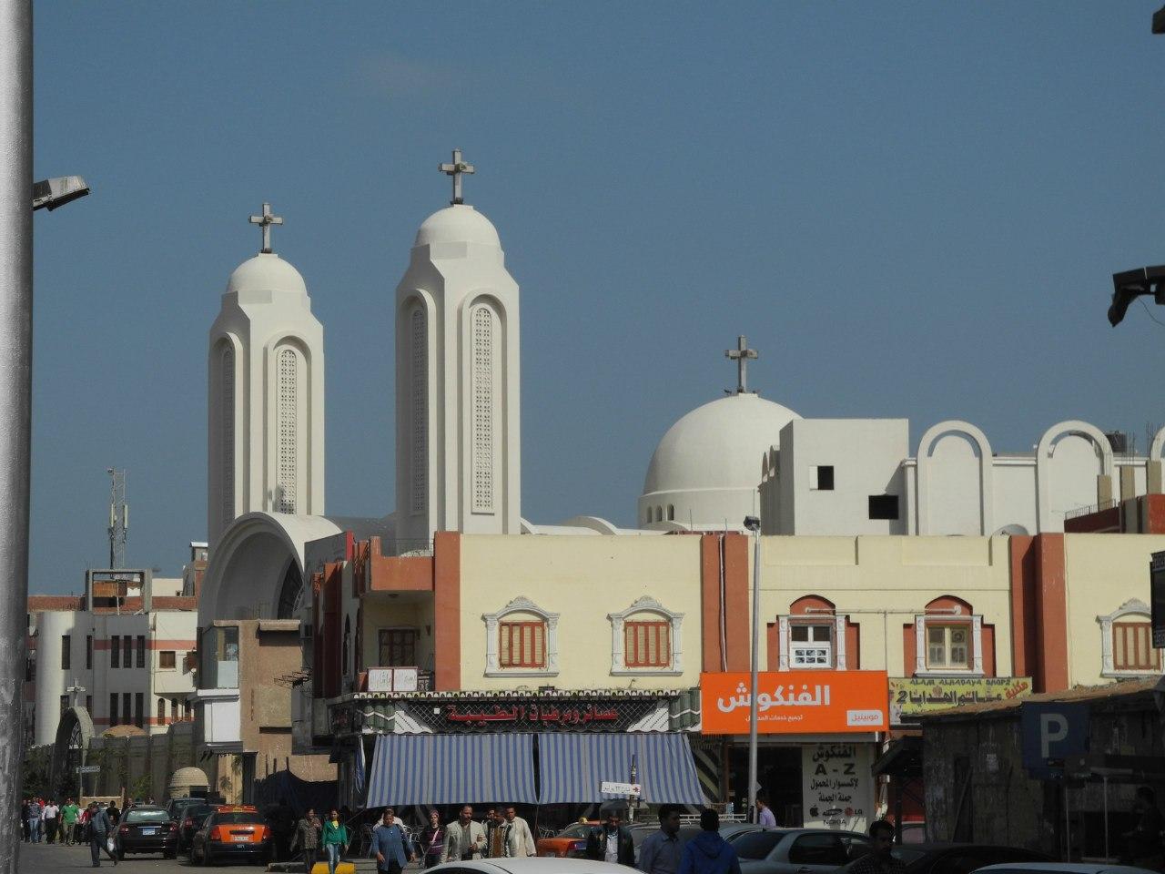 хургада коптская церковь
