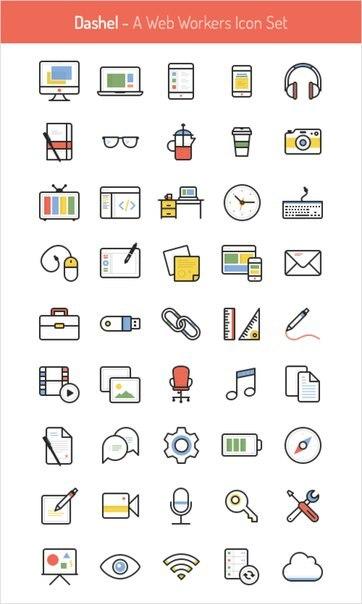 иконки крутые: