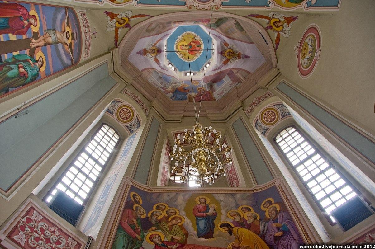 пасхальный рушник церковные купола схема