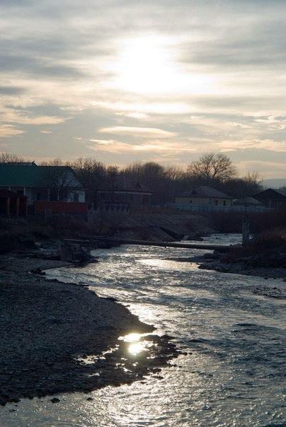 река и небо