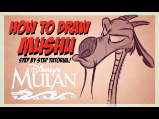 How to Draw Mushu from Disney's Mulan (Step-by-Step)