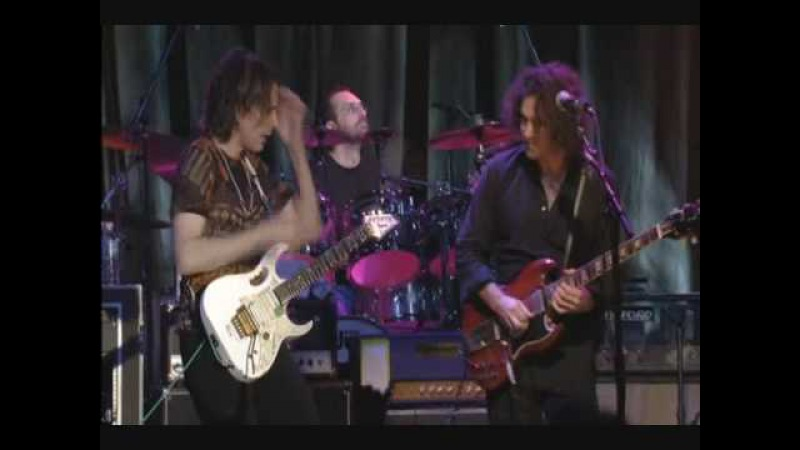 Guitar battle: Steve Vai Dweezil Zappa -- Zappa plays Zappa DVD concert.
