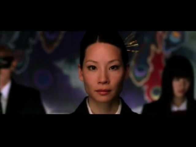 Shura no Hana (Lucy Liu) Kill bill scenes