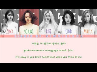 Ladies' Code - I'm Fine, Thank You [Hangul/Romanization/English] Color & Picture Coded HD