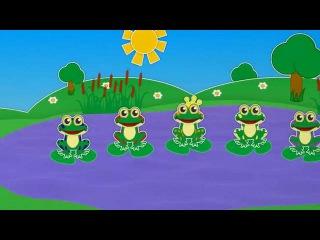 20 | 5 лягушек | Уроки от Пинги и Кроки | УЧИМ ЦИФРЫ