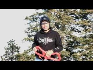 Trikke Skki presentation - how to ride how to take a lift.
