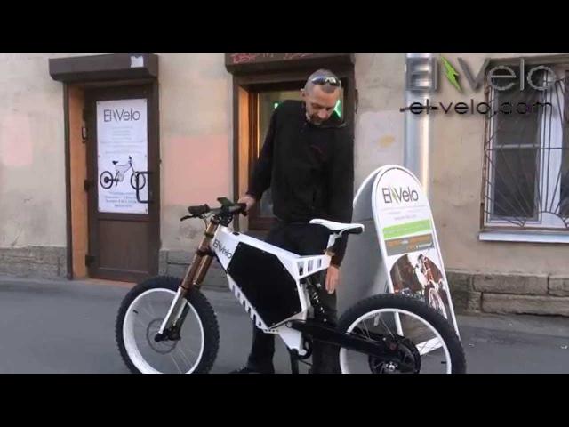 Электровелосипед El-Velo Raptor обкатка перед передачей клиенту El-velo.com
