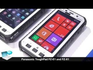 Panasonic ToughPad FZ-E1 (Windows 8) and ToughPad FZ-X1 (Android) rugged handset