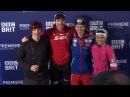 Эмиль Хегле Свендсен, Тереза Йохауг, Руне Вельта, Терье Хоконсен на съемках The Challenge: The Stig vs. Team Norway