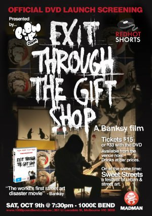 Išėjimas per suvenyrų krautuvę / Exit Through The Gift Shop (2010) Online