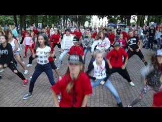 Танцующий город, мастер-класс по хип-хопу, Калуга, август 2015