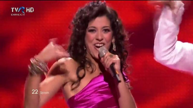 Евровидение 2011 Spain Lucía Pérez - Que Me Quiten Lo Bailao