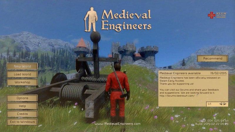 Medieval Engineers [v 02.040.002] (2015) скачать торрент