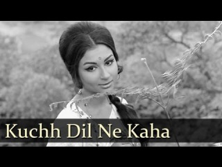Kuchh Dil Ne Kaha - Dharmendra - Sharmila Tagore - Anupama - Lata - Evergreen Hindi Songs